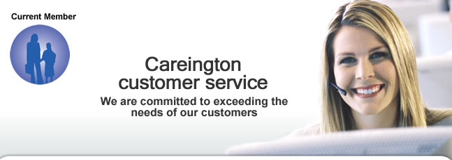 Careington current member header
