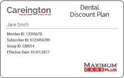 Careington Dental Discount Plan
