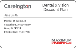 Careington Dental & Vision Discount Plan