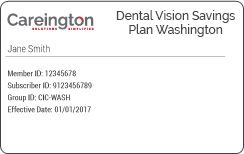 Careington Washington Discount Plan